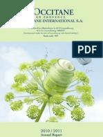 L'Occitane Anual Report
