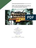 Monster Hunter Freedom Unite Mega Post