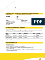 Material Data Safety Sheet Jet A1 Shell