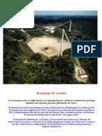 El Mensaje de Arecibo