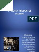 Presentacion La Leche y Productos Lacteos Lacteos y Frutas 2222