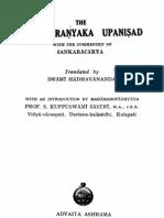 BrahadaranyakaUpanishad-Madhavaananda