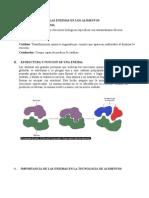 Separata - Enzimas en Los Alimentos 2 (1) Proteinas 3333
