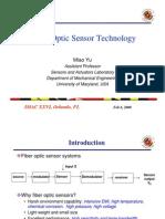 Fiber Optic Sensor Technology