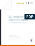 Sustainability Leadership Report