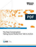 Social Media From Talk to Action