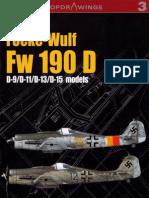 Focke-Wulf FW-190D (Kagero Top Drawings 3)