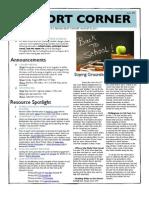 Pilot Cohort Corner Issue #2