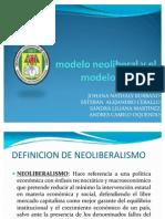 Comparación del modelo neoliberal y el modelo cepalino
