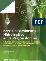 Servicios ambientales hidrológicos en la Región Andina