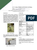 Construcción  y Caracterización de un PUMA, 6o CoMRob
