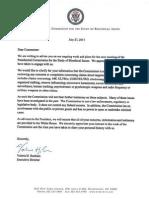 E-Mail Letter Dated Jul 27 From Valerie Bonham