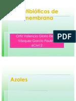 Antibióticos de membrana(1)
