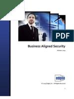 Edgile Business Aligned Security