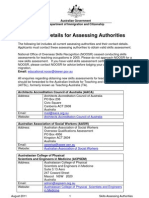 Assessing Authorities