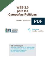 Web 2.0 para las campañas Políticas - Carlos-Gutierrez