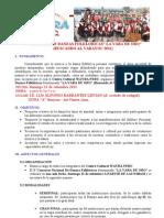 Bases Del v Concurso de Danzas La Vara de Oro 2011.[1][1]