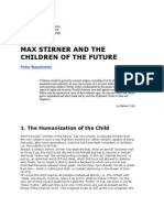Max Stirner and the Children of the Future Peter Nasselstein