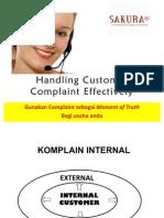 Handling Customer