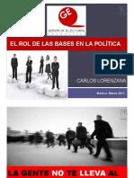 El Rol de las Bases en la Política - Carlos-Lorenzana