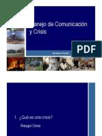Comunicacion en Crisis II - Gustavo Cusot