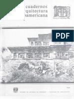 1986c, Cuadernos de Arquitectura Mesoamericana num.8