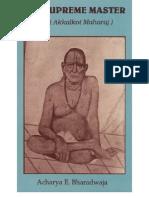 8733867 the Supreme MasterThe Swami of AkkalkotShree Swami Samarth[1]
