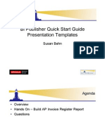 Bi Publisher Quick Start Guide 2010
