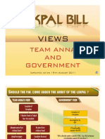 Diff Between Jan Lokpal and Govt. Lokpal