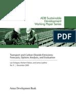 ADB WP09 Transport CO2 Emissions
