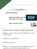 Errores, Consultores y Herramientas - Oswaldo Moreno