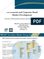 WB Government and Corporate Bond Market Development and Crisis Impact