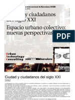 Ciudad y Ciudadanos Del Siglo XXI