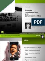 El uso de los mensajes de texto en la comunicación política - Natalia Fidel
