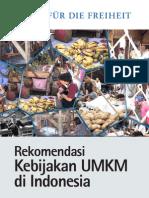 Kebijakan UMKM di Indonesia