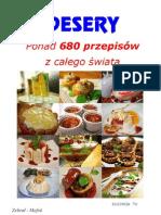 DESERY-680 przepisów-Kuchnia TV