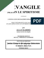 Allan Kardec - L'Evangile Selon Le Spirit is Me