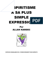 Allan Kardec - Le Spirit is Me a Sa Plus Simple Expression