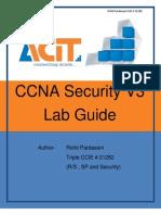 CCNA Security V3 Workbook Demo