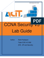 CCNA Security V3 Workbook Demo