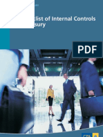 Checklist of Internal Controls for Treasury
