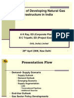 Challenges of Developing Natural Gas Infrastructure in India by Gail