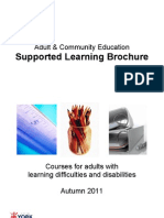 Supported Learning Brochure AUT10 FIN