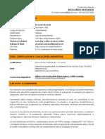 CV Riccardo Morandi 2011 Online