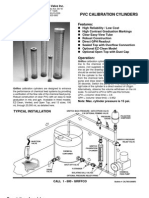 Calibration Cylinders