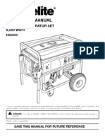 Homelite HG6000 Generator