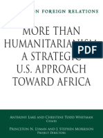 Council on Foreign Relations Paper Humanitarianism
