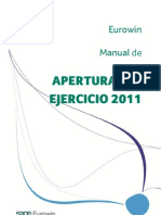 Manual Apertura Eurowin