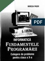DanaLica MirceaPasoi FundamenteleProgramarii Cls10