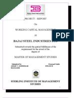 Amar Bajaj Steel Summer Project